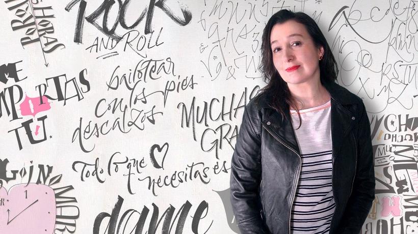 Reflexiones de la Calígrafa Gestual Argentina Silvia Cordero sobre Arte, Caligrafía y Diseño.